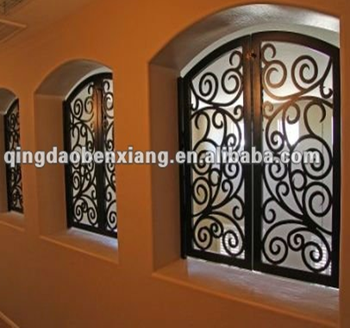 Wrought Iron Grill Designs For Windows 1