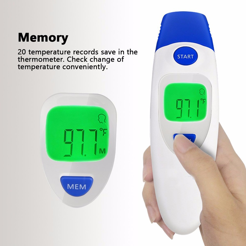 CE-geprüftes Stirnohrbaby Infrarot-Thermometer
