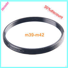 high quality lens adapter M39 Lens M42 fuselage Ring m39-m42 Adapter for Leica, Canon, Nikon, Carl Zeiss, Pentax, Leica