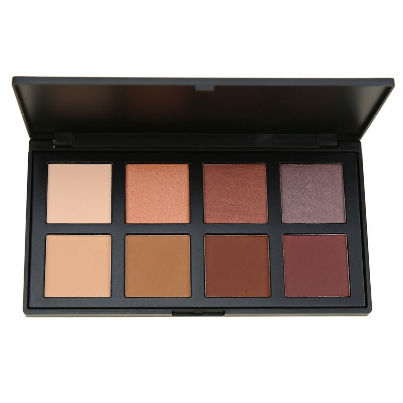 High pigment natural 8 colors eyeshadow no labels choose colors freely with empty eyeshadow palette фото