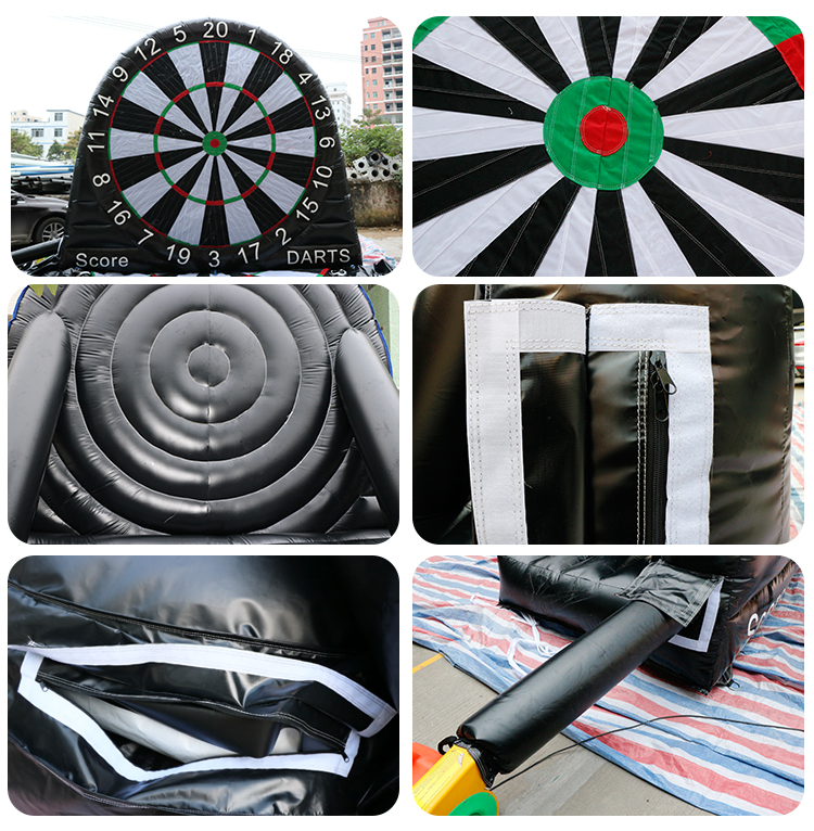 inflatable football darts