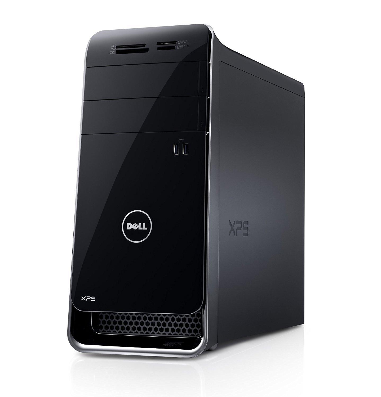 Dell XPS 8700 Desktop Computer - Intel Core i7 i7-4790 3.60 GHz - Mini-tower - Black - 8 GB RAM - 1 TB HDD - DVD-Writer - NVIDIA GeForce GT 720 - 1 GB Graphics - Windows 8.1 64-bit (English) - Wireless LAN - Bluetooth X8700-2113BLK