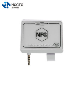 Android/IOS Mobile NFC Card Reader /audio jack encrypted portable card reader /magnetic card reader With free SDK--ACR35