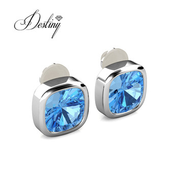 8c5c4759d9 Destiny Jewellery Wholesale Fashion Crystal Jewelry Element 18k Gold Plated  Magnet Earrings Crystal From Swarovski - Buy Cheap Earring Gold Plated,4k  ...
