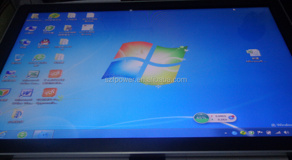 "17"" inch vga touchscreen monitor touch screen of open frame touch screen monitor"