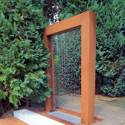 Chinese Garden Decor Large Outdoor Water Fountain Drawing