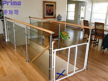 Captivating Indoor Clamp Glass Plexiglass Railing For Stairs