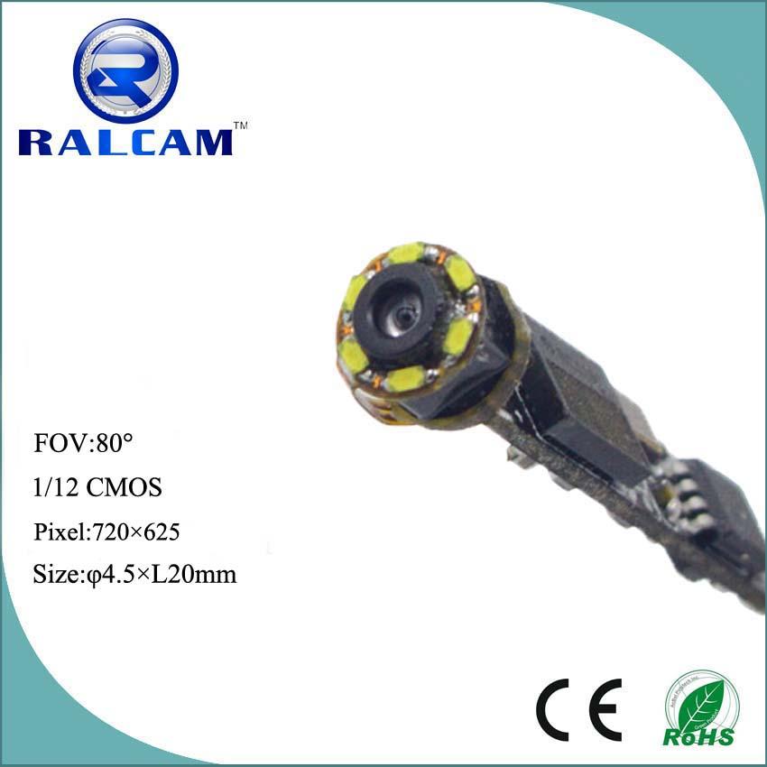 D 4.5mm Camera 720*625 Pixels Industrial Endoscope Camera Module ...