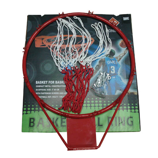 Cheap price custom basketball ring rim and net hoop set outdoor in office
