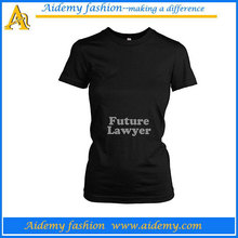 Soft jersey relaxed fit wholesale blank maternity t shirts in bulk