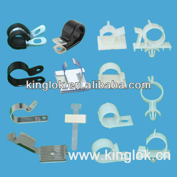 Metal Cable Saddles P Clip - Buy Cable Clamp,Plastic Wire Saddle ...