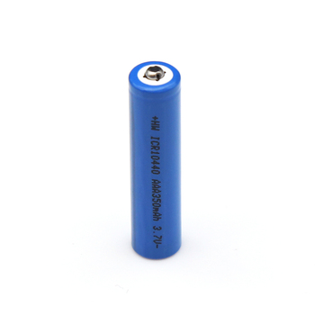 AAA Li-ion ICR Lithium-ion Rechargeable 10440 Battery 350mAh 3.7V for Flashlight Digital Camera