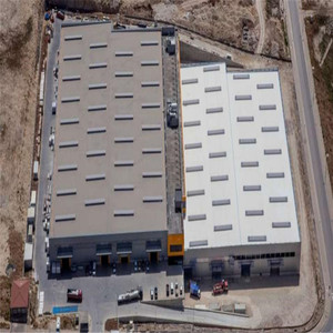 Low cost prefab two story china steel structure warehouse