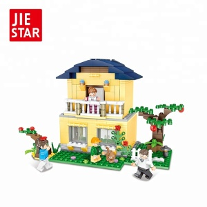 Imagination assembly city bricks house blocks toys from JIE STAR