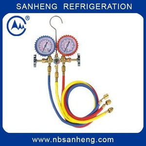 SH-M536A R134A Freon Gauge and Manifold Set