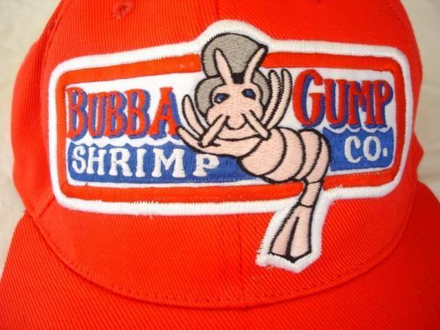 shrimp gump bubba gump cap hat tom hanks - buy gump hat product on