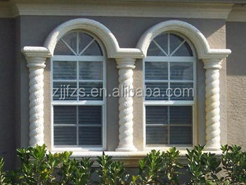Pvc Hung Window House Design Arch With Grill
