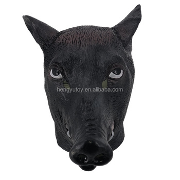 Adults Wild Boar Pig Head- Animal Fancy Dress Mask Costume  sc 1 st  Alibaba : pig head costume  - Germanpascual.Com