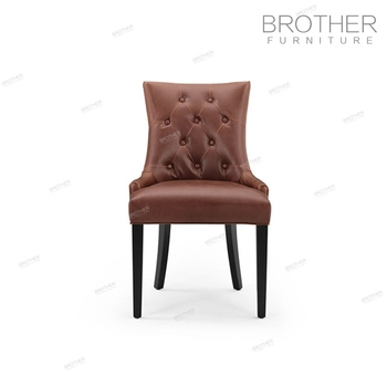 New Style French Tufted Luxury Dining Chair