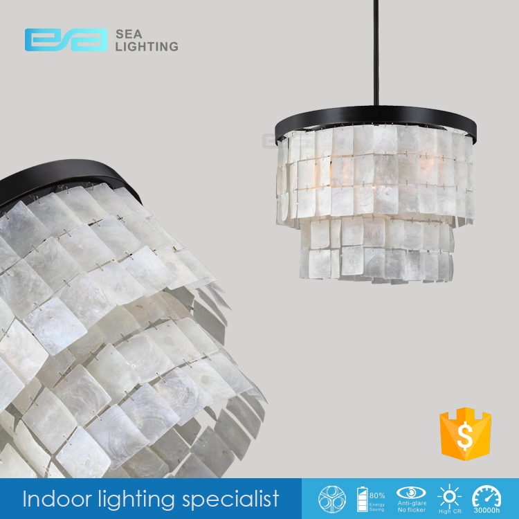 moderne shell lamp verlichting slaapkamer eetkamer hal verlichting