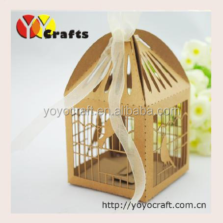 Wholesale decorative bird cages wedding box for wedding, party decoration