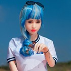 Free shipping Japanese production sex doll young girl mini sex doll for old women sex toys