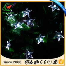 20 Leds solar powered star string lights christmas wedding party