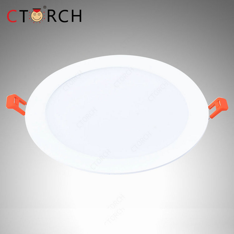 Hot sale Ctorch 18w round SMD led panel light bulb skd part prices indoor lamp