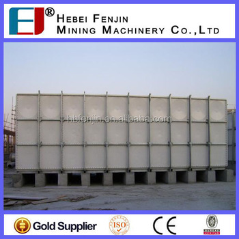 Uv Resistance Frp/grp Fiberglass Fire Protection Water Storage ...