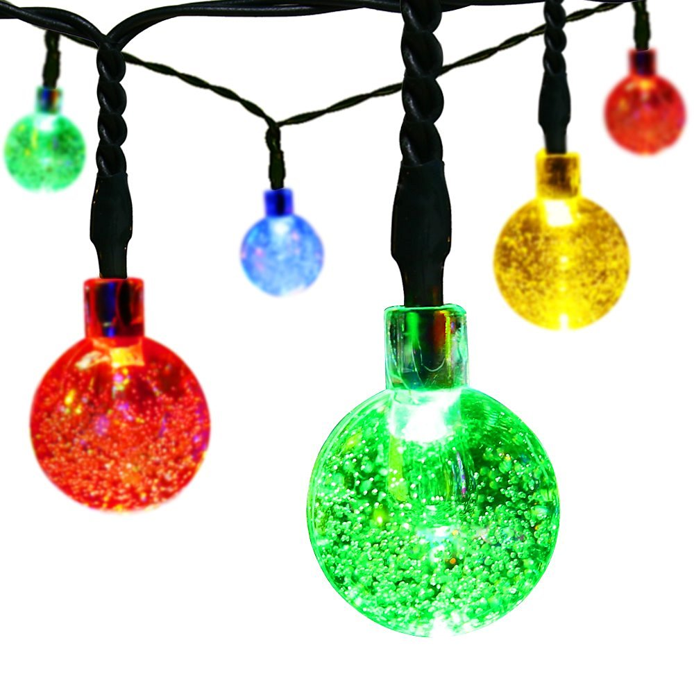 Led Solar Christmas Ball Light, Led Solar Christmas Ball Light ...