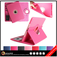Keno 360 Degree Rotating Stand PU Leather Case Protective Flip Folio Detachable Soft Rubber Cover For Apple iPad Mini 1/2/3