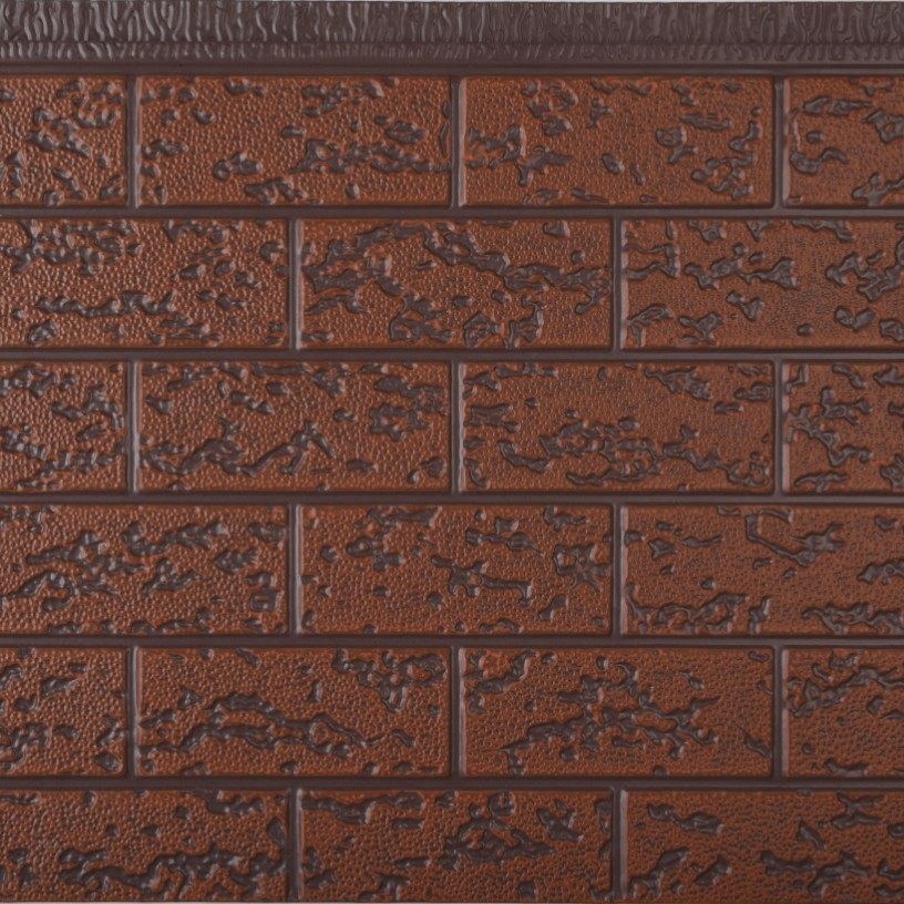 Cheap Price High Quality Polyurethane Beautiful Brick Color Energy Saving Siding Exterior Decorative Insulated Wall <strong>Panel</strong>