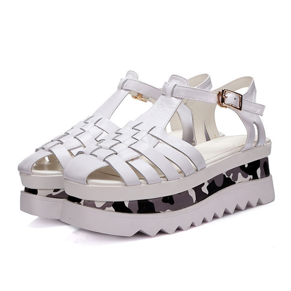 7d02ddbfb4da03 Buy Tan Chunky Gladiator Jesus Sandals shoes Flats Low Heel Cage Strappy in Cheap  Price on Alibaba.com