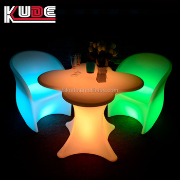 Exceptional Solar Powered Led Outdoor Furniture/led Chairs And Tables