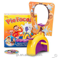 Parent child games cream on her face paternity toy rocket catapult game consoles