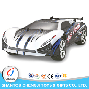New type high speed plastic 2.4G large rc 1 10 scale model cars