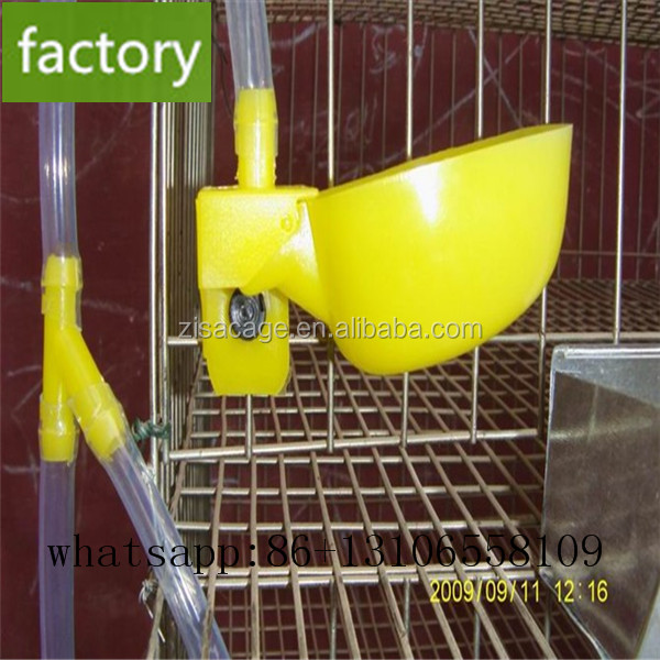 H type hot dip galvanized battery layer quail cage for sale