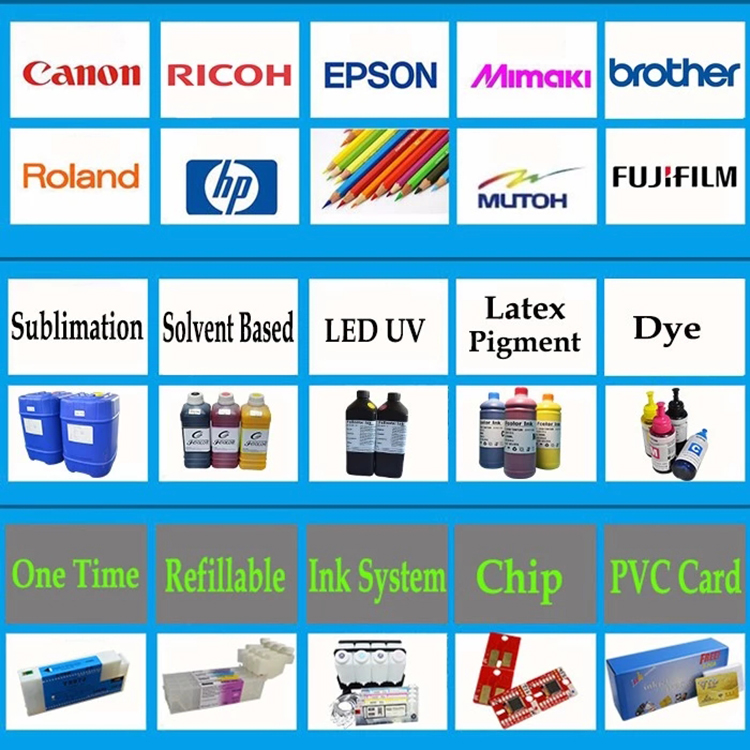 Working Stability Compatible Ink Cartridge Chip For Fuji DX100 One Time Chip