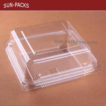 Pet Pp Ps Plastic Pastry Food Tray
