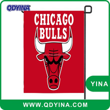 Factory price Professional design Chicago Bulls garden flag with garden flag stand