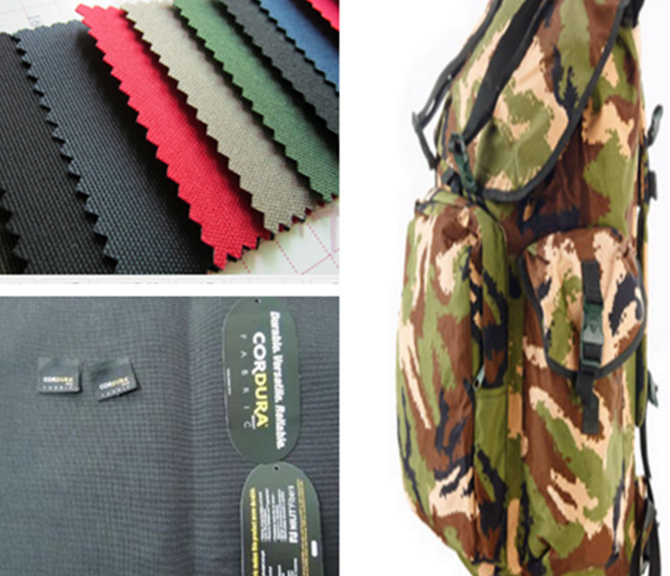 Tela de cordura 100% nailon, impermeable, oxford
