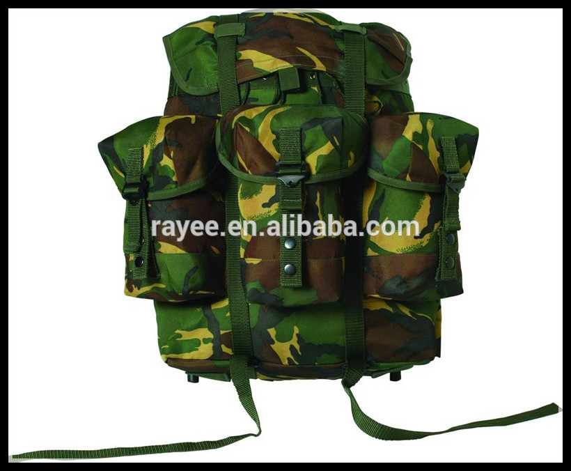 Camouflage Fabric For Bag Printed With Malaysia Army