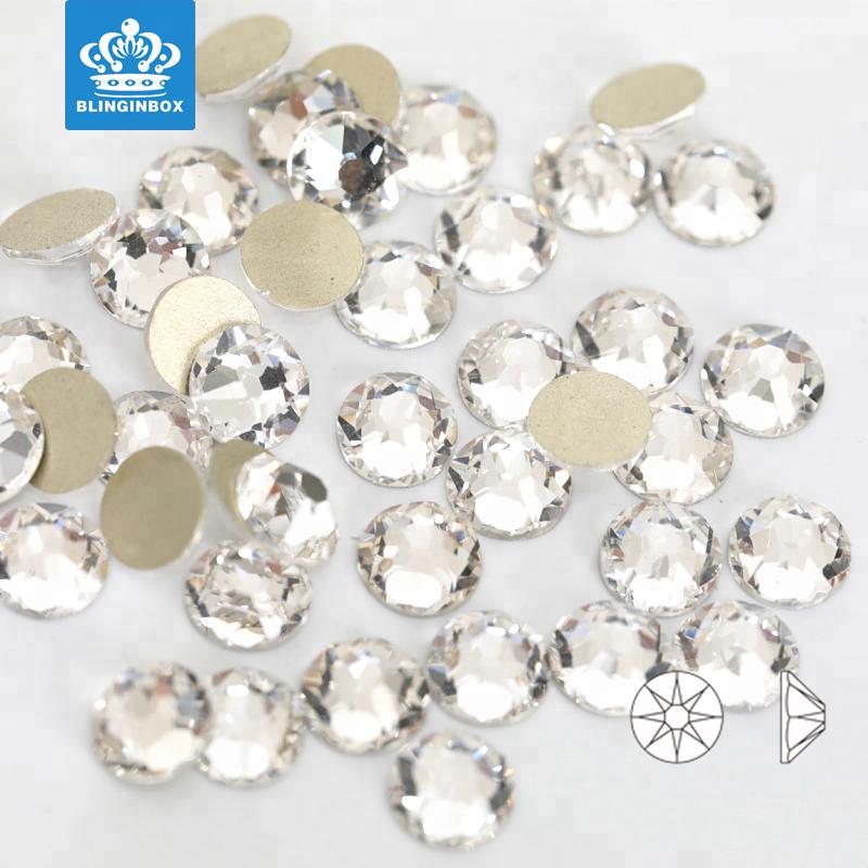 567f4eb27 Blinginbox Brand Provide Free Samples SS20 Crystal Color Round Flatback  Rhinestone For DIY