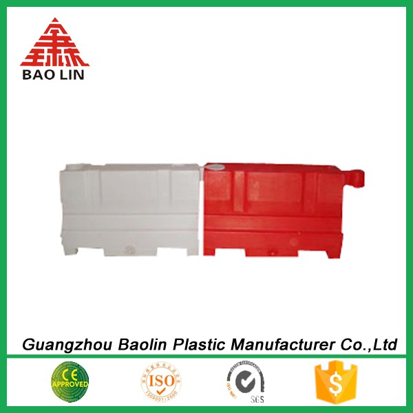 Safety useful water filled plastic road barrier