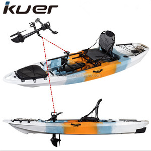 New 10ft pedal kayak with rudder system and frame seat