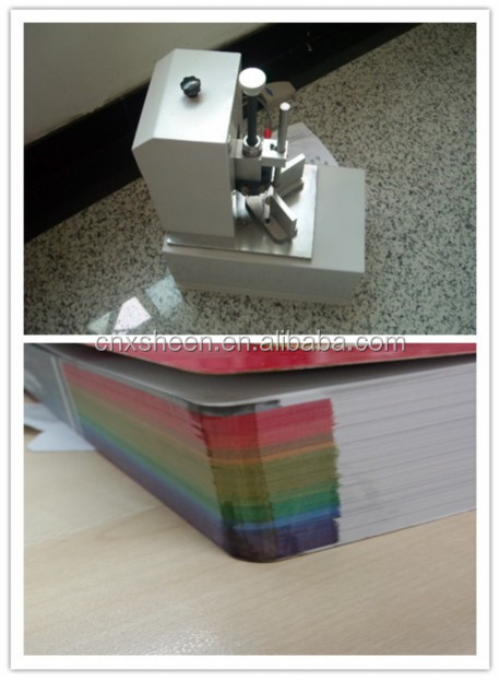 high efficient photo book corner rounding cutting machine