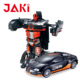 Black robot & car cheap chinese edu toys for children playing materials with ABS
