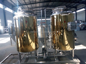High Quality Turnkey Project 100L 200L 300L 500L Beer Brewing/Mini Brewery Equipment For Sale