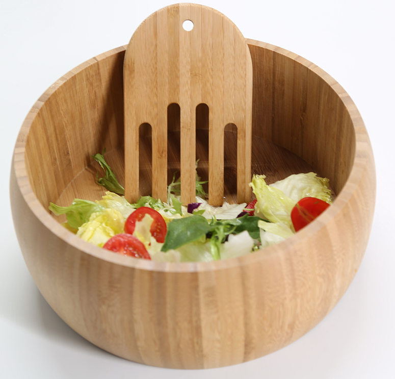 customized design bamboo fiber salad bowl,unique salad bowls with high quality and healthful bamboo material