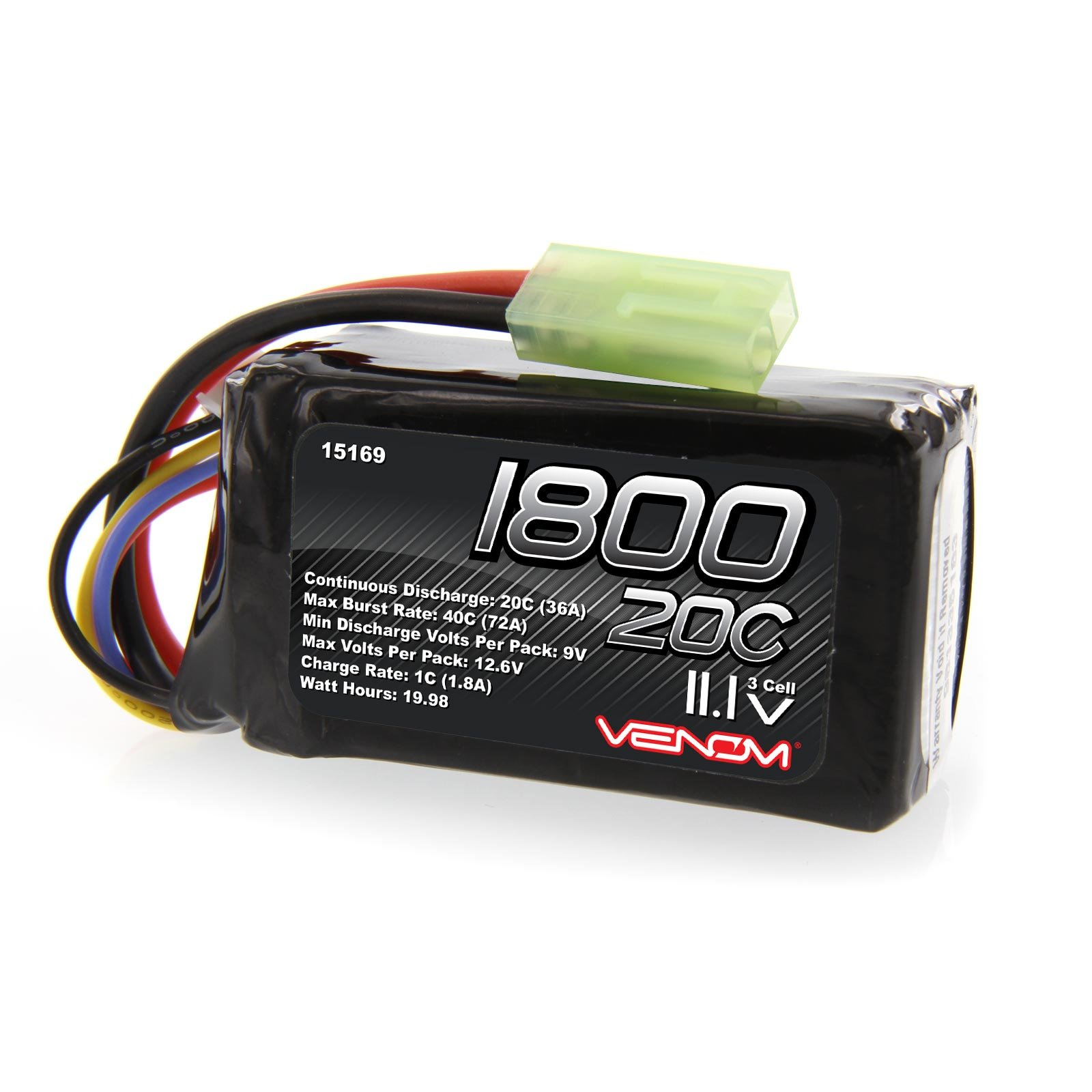 Buy Venom 8000mAh 3S 11 1V Drone Professional High Capacity Battery